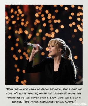 25 Standout Taylor Swift Lyrics From '1989' Plastered on Polaroid ...