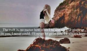 Break Up Picture Quotes