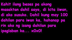 Tagalog Sad Love Quotes Wag