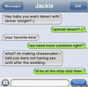 Funny iPhone SMS – Desert