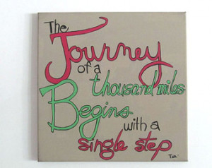 Inspirational Quote Art Print