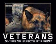 Thank you to all our two-legged AND four-legged troops!!! More