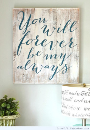 ... forever live as if you will die tomorrow forever means forever for