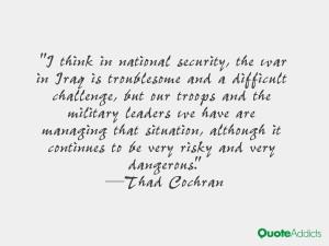 Thad Cochran