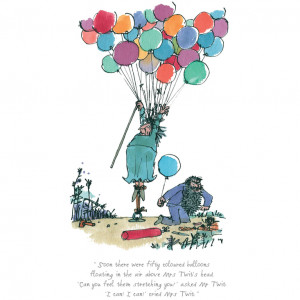 ... Quentin Blake's wonderful illustrations of Roald Dahl's The Twits