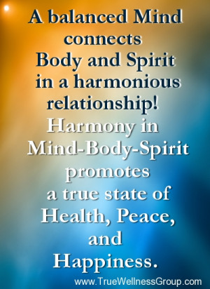 mind body and soul relationship reading