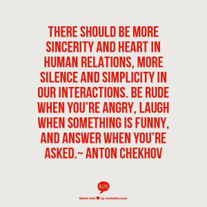 Anton ChekhovChekhov Quotes, Words Quotes Lif, Relationships, Quotes ...