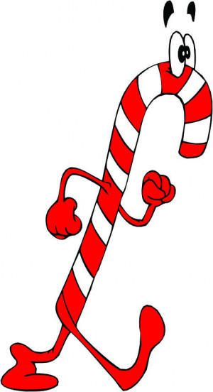 christmas candy cane this cute cartoon candy cane a nice candy cane ...