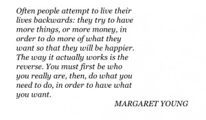 "Quotes ""The Artist's Way"" Margaret Young"