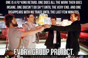 The Hangover Gang Do A Group Project In Las Vegas