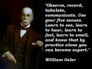 William osler famous quotes 4