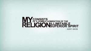 religion quote by mvgraphics