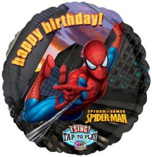 Birthday Balloons Spiderman