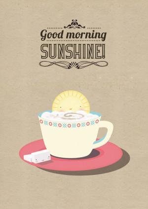... good mornings illustration good mornings sunshine bright colors