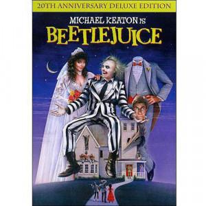 ... Beetlejuice Movie DVD, Michael Keaton Movie DVD, Warner Home Video DVD