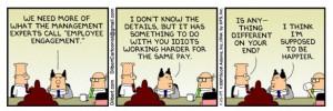 Dilbert employee engagement
