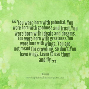 Rumi Inspirational Picture Quote