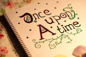 book, fairytale, letters, once upon a time, quote