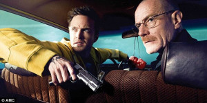 The final moments: Aaron Paul and Bryan Cranston were shocked when ...