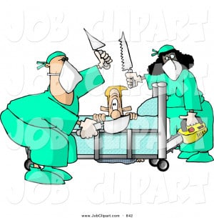 Job Clip Art Male Hospital Patient Getting Some His Limbs