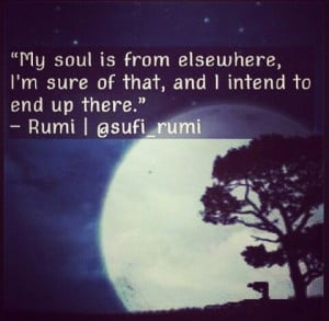 Rumi quote faith
