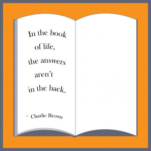 Charlie Brown Wisdom on The Book of Life