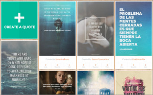 ... .ly: Create, Collect and Share the World's Most Inspiring Quotes