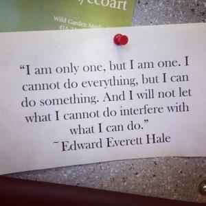 Edward Everett Hale Quotes (Images)