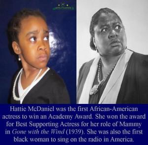 Hattie Mcdaniel Hattie mcdaniel side by side