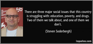 social issues that this country is struggling with: education, poverty ...
