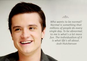 josh hutcherson quotes tumblr