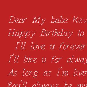 -kevin-happy-birthday-to-u-ill-love-u-forever-ill-like-u-for-always ...