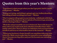 Mentor Quotes 2014