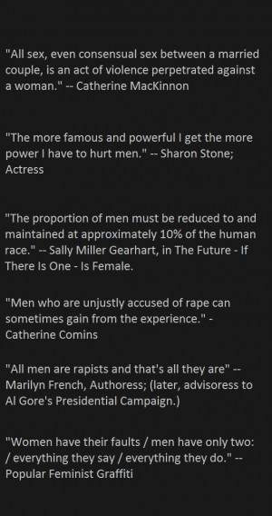 Quotes. Real radical feminist quotes. Some of these are dated, but it ...