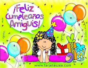 Feliz cumpleaños amigo ~ Frases de cumpleaños