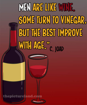 Men Are Like Wine Funny Sayings Pictures