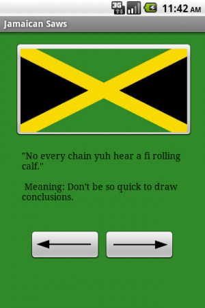 Jamaican Saws Funny and serious Jamaican nuggets of wisdom covering ...