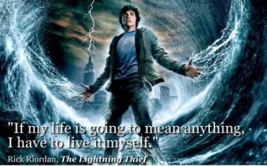 Live it myself rick riordan the lightning thief 495x310
