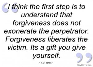 td jakes quotes source http okyday com quotes i think the first step ...