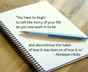 Law of Attraction says... Abraham-Hicks Quotes / Affirmations
