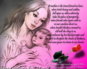 ... day mother love sweet happy day loving more loving a mother love
