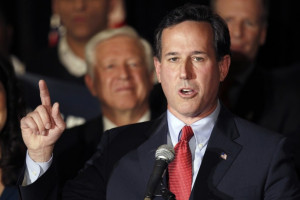 Rick Santorum: Women should not be allowed to serve in combat because ...
