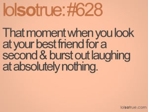 Funny Quotes About Best Friends And Laughing