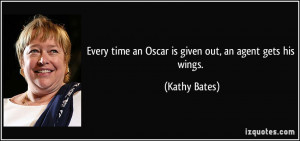 More Kathy Bates Quotes