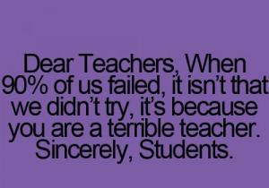 Funny teacher quotes 3