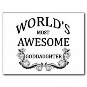 Goddaughter Gifts - Shirts, Posters, Art, & more Gift Ideas