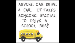 Bus driver gift magnet - Schoolbus operator appreciation quote. Yellow ...