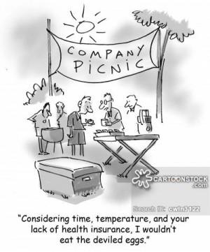company picnic cartoons, company picnic cartoon, funny, company picnic ...