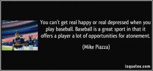 More Mike Piazza Quotes