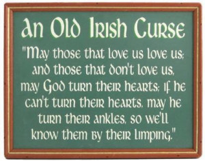 Old Irish Curse
